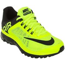 Tenis Nike Air Max+ 2013 Verde Neon