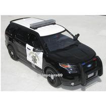 Ford Explorer Xlt 2015 Policia California 1/18 Motormax