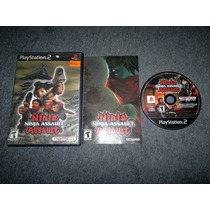 Ninja Assault Completo Para Play Station 2, Checalo