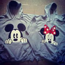 Sudaderas Para Novios Parejas Iguales Mickeys Minnie Amor