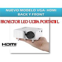 Mini Proyector Led Portatil 80 Lumens Hdmi 100 Pulgadas Vbf