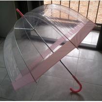Paraguas/sombrilla Burbuja Transparente En Forma De Hongo