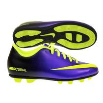 Nike Jr Mercurial Vortex Fg-r Tacos Futbol Infantiles