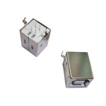Conector Usb Tipo B Hembra Montaje Perpendicular
