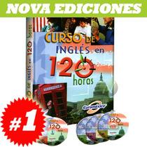Curso De Inglés En 120 Hrs 1 Vol + 3cd Rom + 3 Dvd¿s