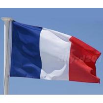 Bandera De Francia 1.5mts X 90cm