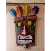 Máscara De Aku Aku De Crash Bandicoot