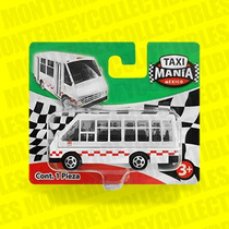 Taxi Mania Microbus Estado De Mexico Tipo Hot Wheels