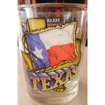 Vaso Texas Souvenir Regalo United States Of America