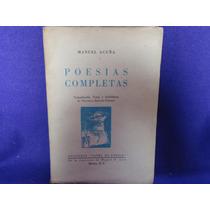 Florencia Barrera Fuentes, Manuel Acuña. Poesías Completas.
