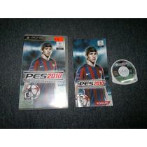 Pro Evolution Soccer 2010 Completo Para Sony Psp, Checalo