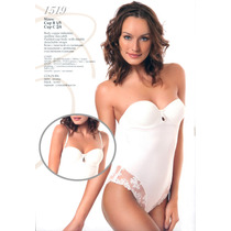 Body Novia Italiano 100% Original En Color Marfil Y Negro