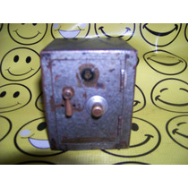 Antigua Caja Fuerte Alcancia D Metal No Funciona