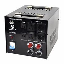 Convertidor De Voltaje Ac 110/220v Y 220/110v 10,000 Watts