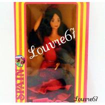 Barbie Española 1era Edicion Muñecas Del Mundo España 1983