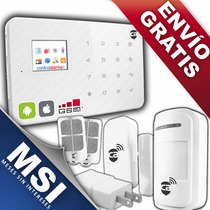 Alarma Gsm Seguridad Casa Negocio Oficina Via App Celular
