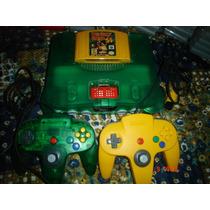 Nintendo 64 Edicion Donkey Kong 64 + 6 Juegos Y 2 Controles