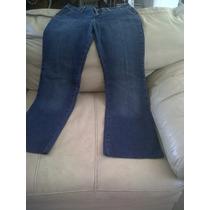 Jeans Mezclilla Dama Marca C & A Tendency Color Azul, Maa