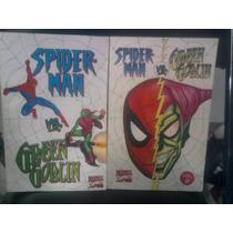 Marvel Comic Spiderman Vs Green Goblin H. Araña Duende Verde