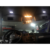 Luz Led Domo Vicera Jetta Golf Seat A4 A6 Gti Gli Vw Univers