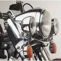 Soporte De Faros Auxiliares Spot Oem Harley Road King Ultra