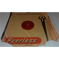 Disco Peerless Para Vitrola 78 Rpm Cuarteto Hernando Aviles