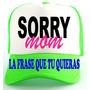 Gorras Personalizadas Estampadas Fluorescentes Neón