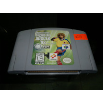 International Superstar Soccer 98 Para Nintendo 64,excelente