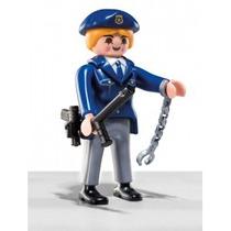 Playmobil 5459 Figura Serie 6 Policia D Ciudad #2 Retromex