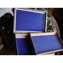 Preciosa Caja Costurero Labrado A Mano India Incrustaciones
