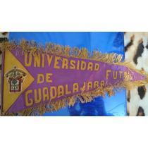 Banderín Leones Negros Guadalajara Años 80´s 25x60 Cm