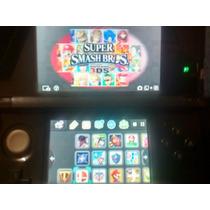 Nintendo 3ds Muchos Juegos 3ds,smash, Sonic, Seminuevo Barat