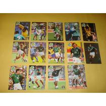 14 Tarjetas Bimbo Cards Corea 2002 Seleccion Mexicana