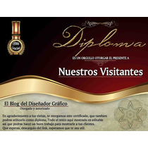Diplomas/reconocimientos Empresas/escuelas, Etc... Vv4