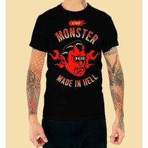 Playera King Monster Mod: Diablo En Vandalosk8