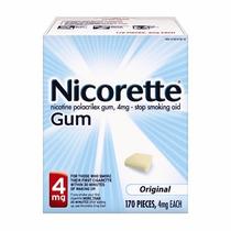 Nicorette Goma Nicotina Original 4 Miligramos Parar De Fumar