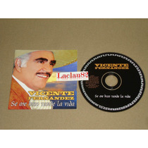 Vicente Fernandez Se Me Hizo Tarde La Vida 2003 Sony Cd