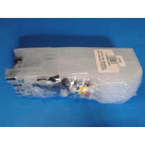 Cartucho Recargable Para Brother Lc103 Lc105 Con Chip $356