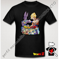 Playera Goku Dragon Ball Pelicula Batalla De Los Dioses Sp0