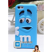 Funda Protectora M&m Iphone 5c Regalos Mica,paño,stylus Vbf