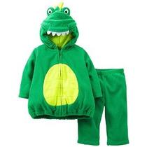 De Carter Baby-boy Fleece Pequeño Dinosaurio Del Traje De Ha