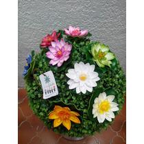 Flor E Loto Artificiall Acuatica Vbf