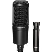 Kit De Dos Microfonos Condensador Audio-technica At2041s Hm4