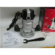 Craftsman Router 12 Amp Y 1 3/4 Hp 2 Collarines Envio Gratis