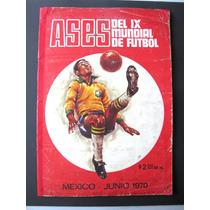 Album De Estampas Ases Del Ix Mundial Futbol Mexico 70