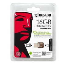 Memoria Usb 16gb Kingston Dt Microduo Mini Usb Android 2.0