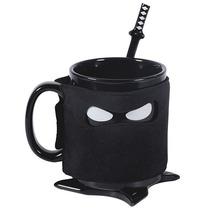 Taza Para Cafe Ninja Con Acesorios