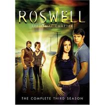 Roswell Temporada 3 Tres , Importada Serie De Tv En Dvd