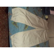Aca Joe Original Pantalon Blanco Gabardina 36