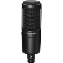 Microfono Condensador Audio-technica At2020 Cardioid Xlr Hm4